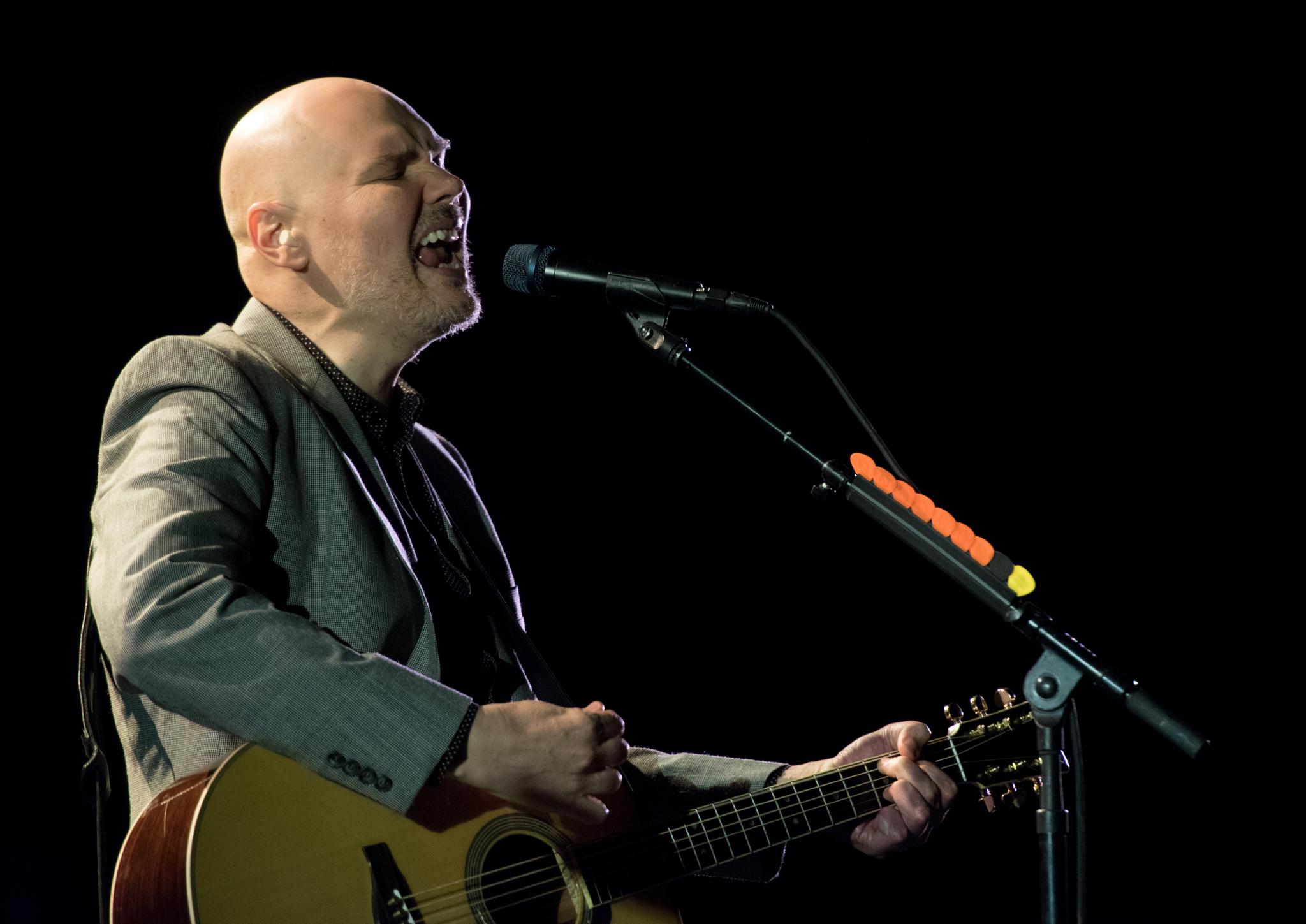 Billy Corgan Treats Fans at Intimate Shows