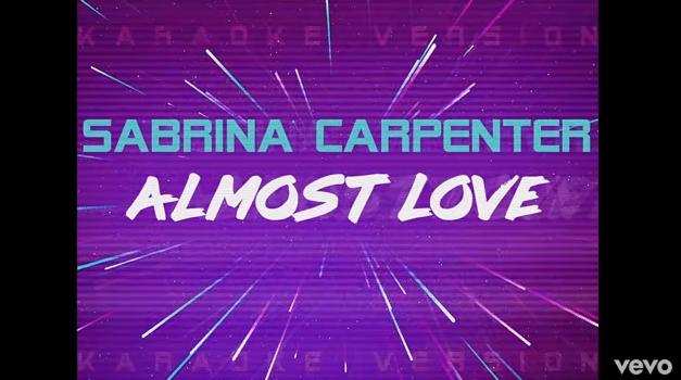 "Rick's Pick – Sabrina Carpenter – ""Almost Love"""