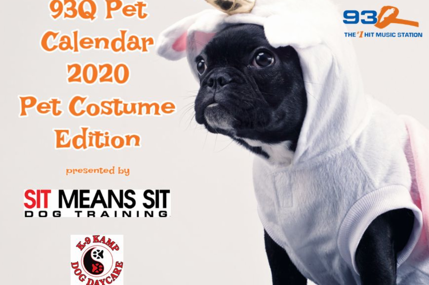 Get Your 2020 93Q Pet Calendar NOW!