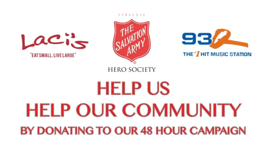 The Salvation Army 48 Hour Campaign | November 12th & 13th