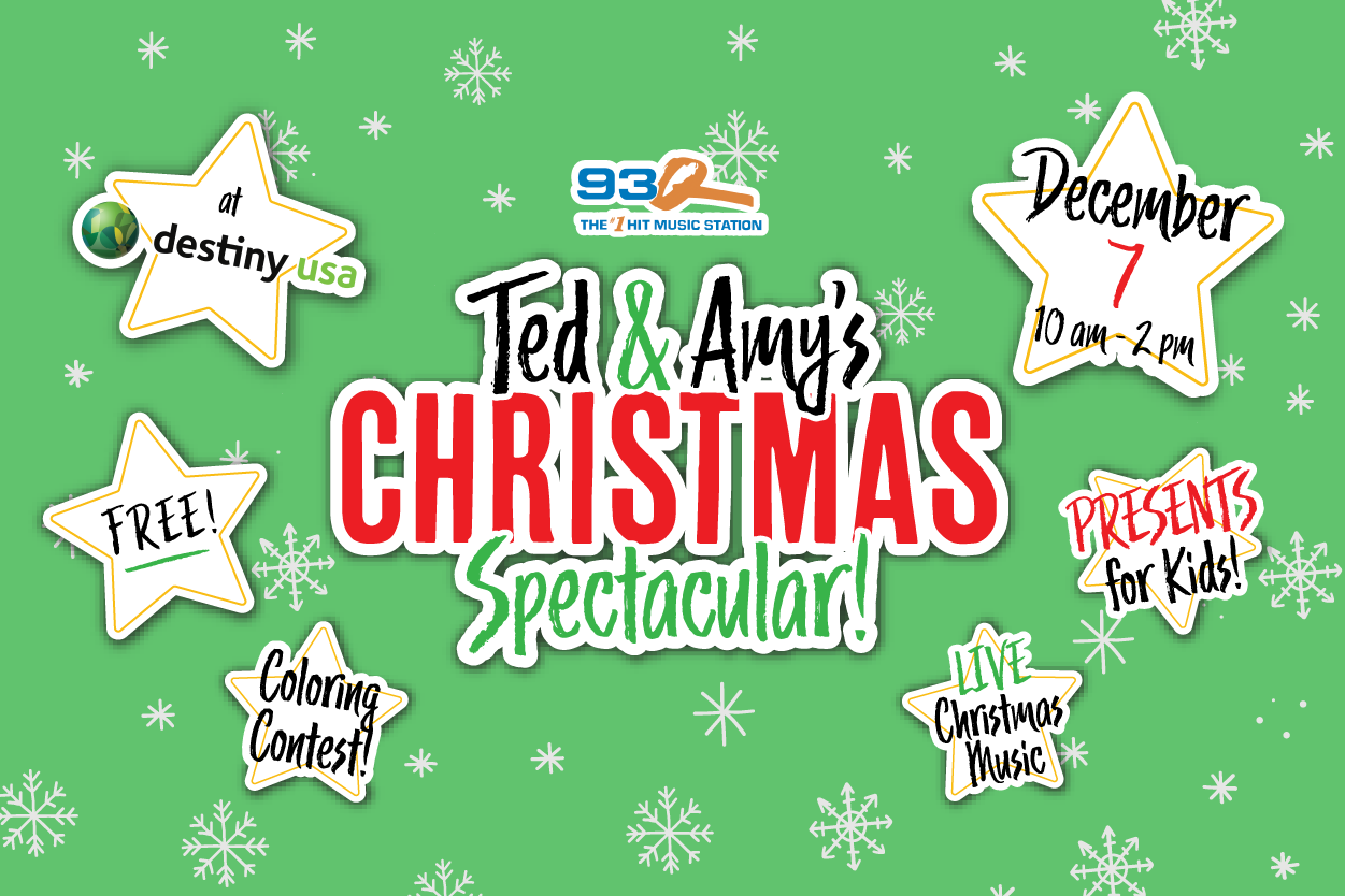 Ted & Amy's 93Q Christmas Spectacular | December 7th