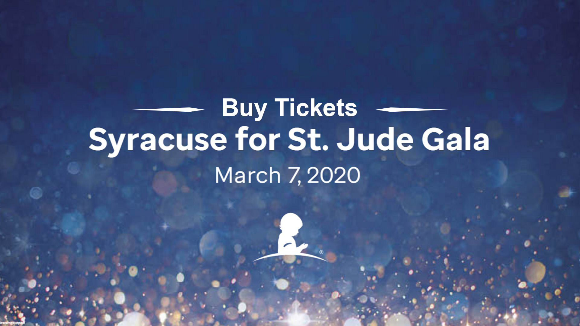 Syracuse for St. Jude Gala   March 7th
