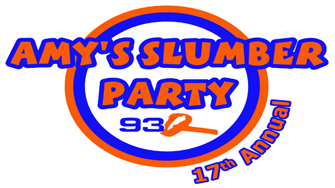 Amy's 93Q Slumber Party Seasons Tavern Menu
