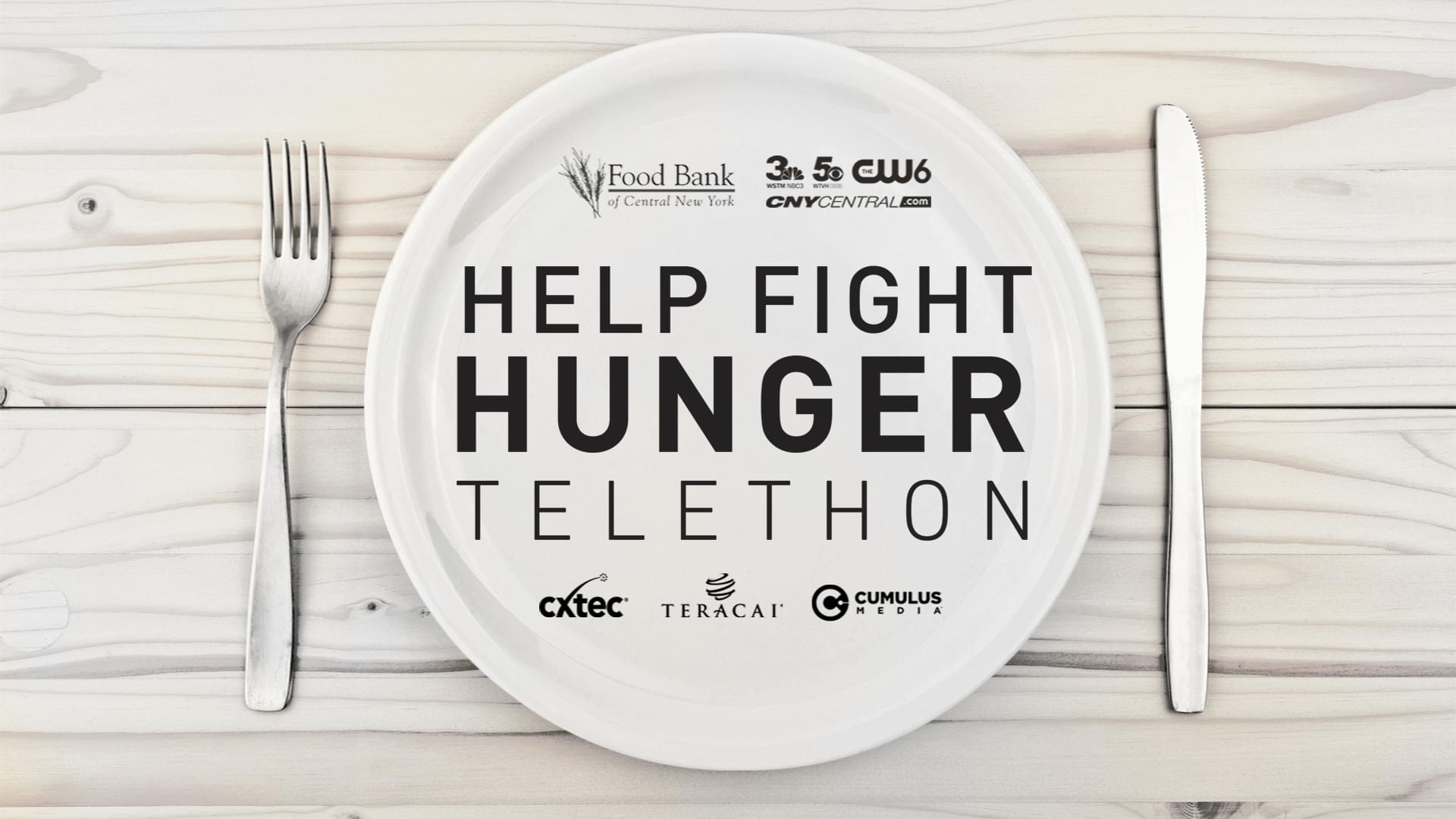 Help Fight Hunger Telethon | January 23rd