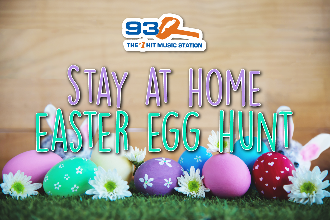 93Q Stay At Home Easter Egg Hunt!