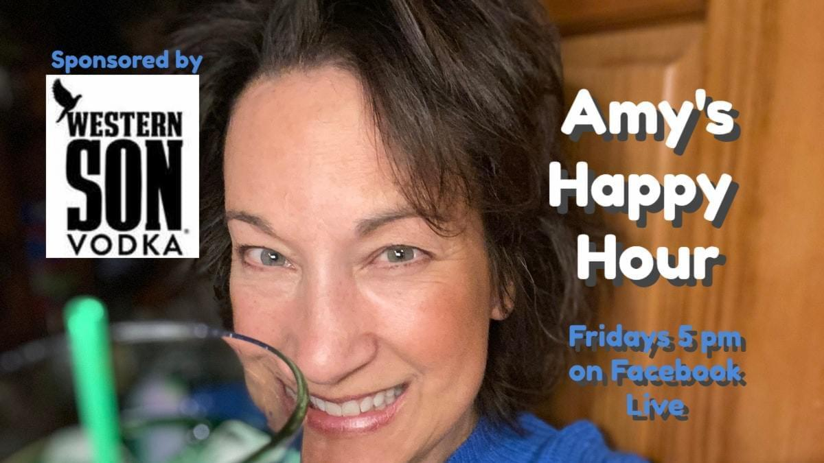 Amy's Friday Happy Hour with Western Son Vodka!
