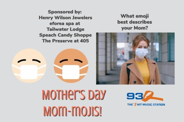 93Q Mom-moji Mother's Day 2020!
