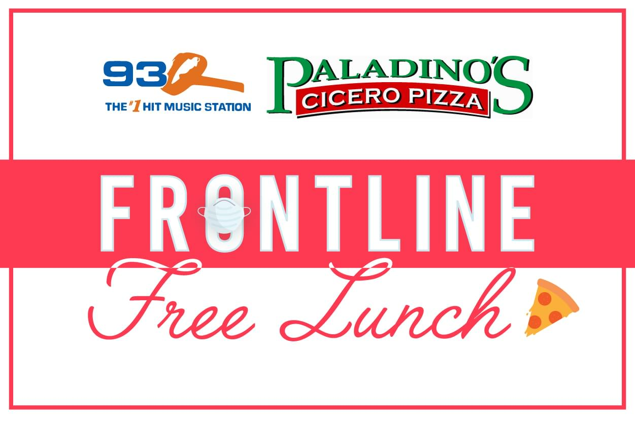 93Q Frontline Free Lunch | Nominate Essential Workers