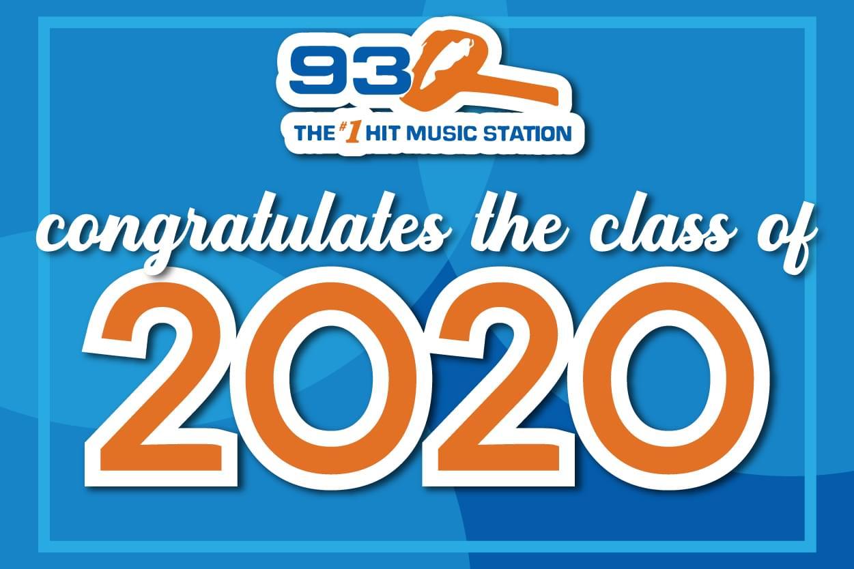 93Q Congratulates The Class of 2020