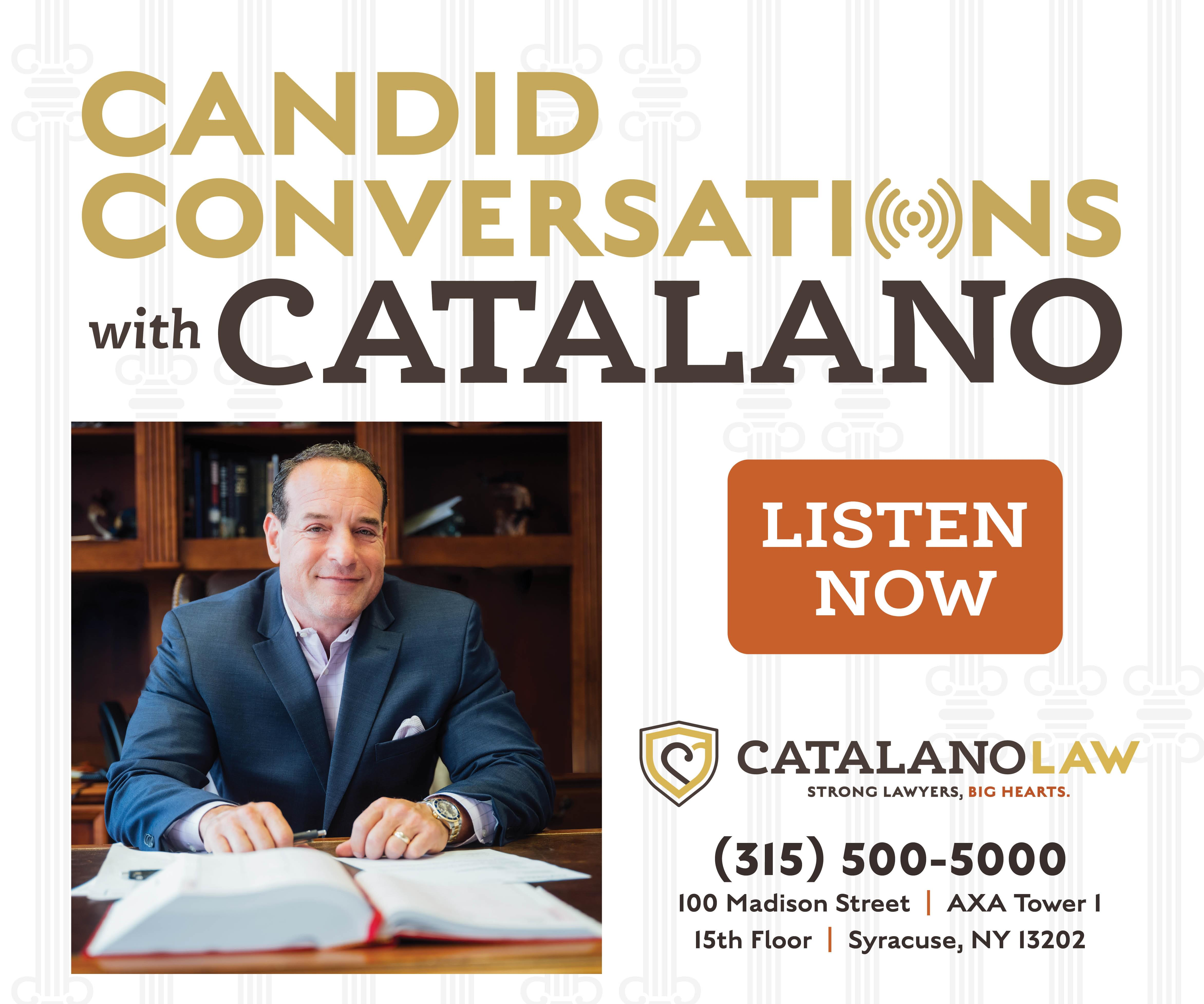 Candid Conversations with Catalano