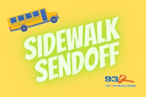 93Q Sidewalk Sendoff | Contest