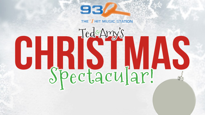 Ted & Amy's 93Q Christmas Spectacular | Live-Stream