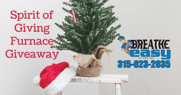 Spirit of Giving Furnace Giveaway | CONTEST