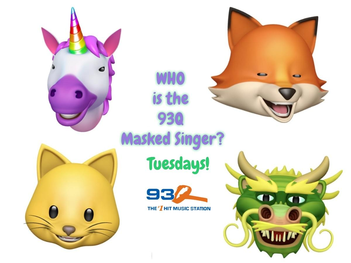 Who is the 93Q Masked Singer?