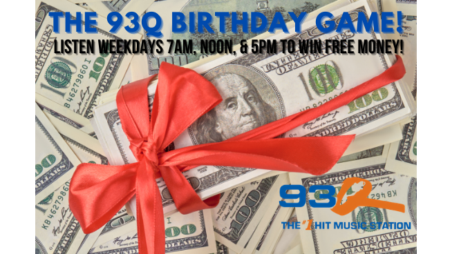 The 93Q Birthday Game!   CONTEST