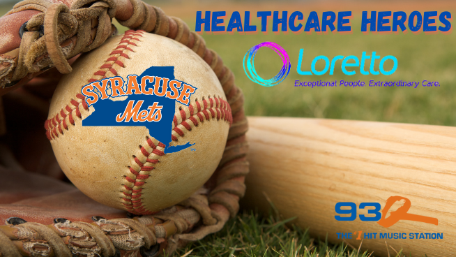 93Q Healthcare Heroes with Loretto & the Syracuse Mets | CONTEST