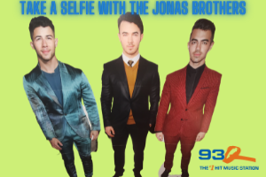 93Q Take A Selfie with the Jonas Brothers   CONTEST