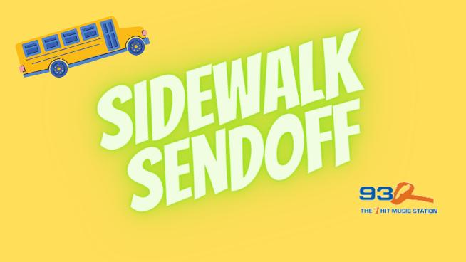 93Q Sidewalk Sendoff   CONTEST