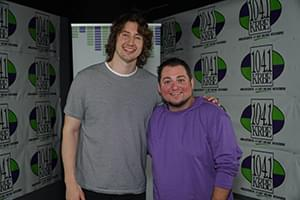Dean Lewis in Studio 104