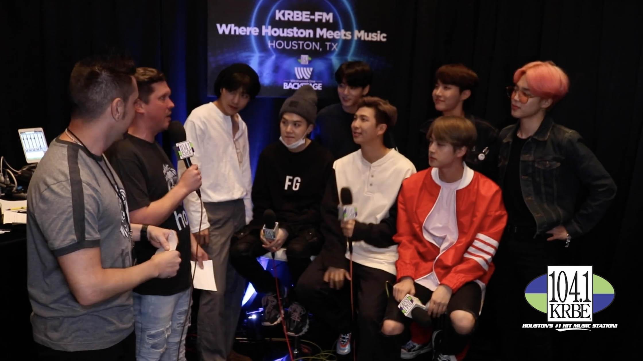 Special K & Kevin Quinn interview BTS at the 2019 BBMAs
