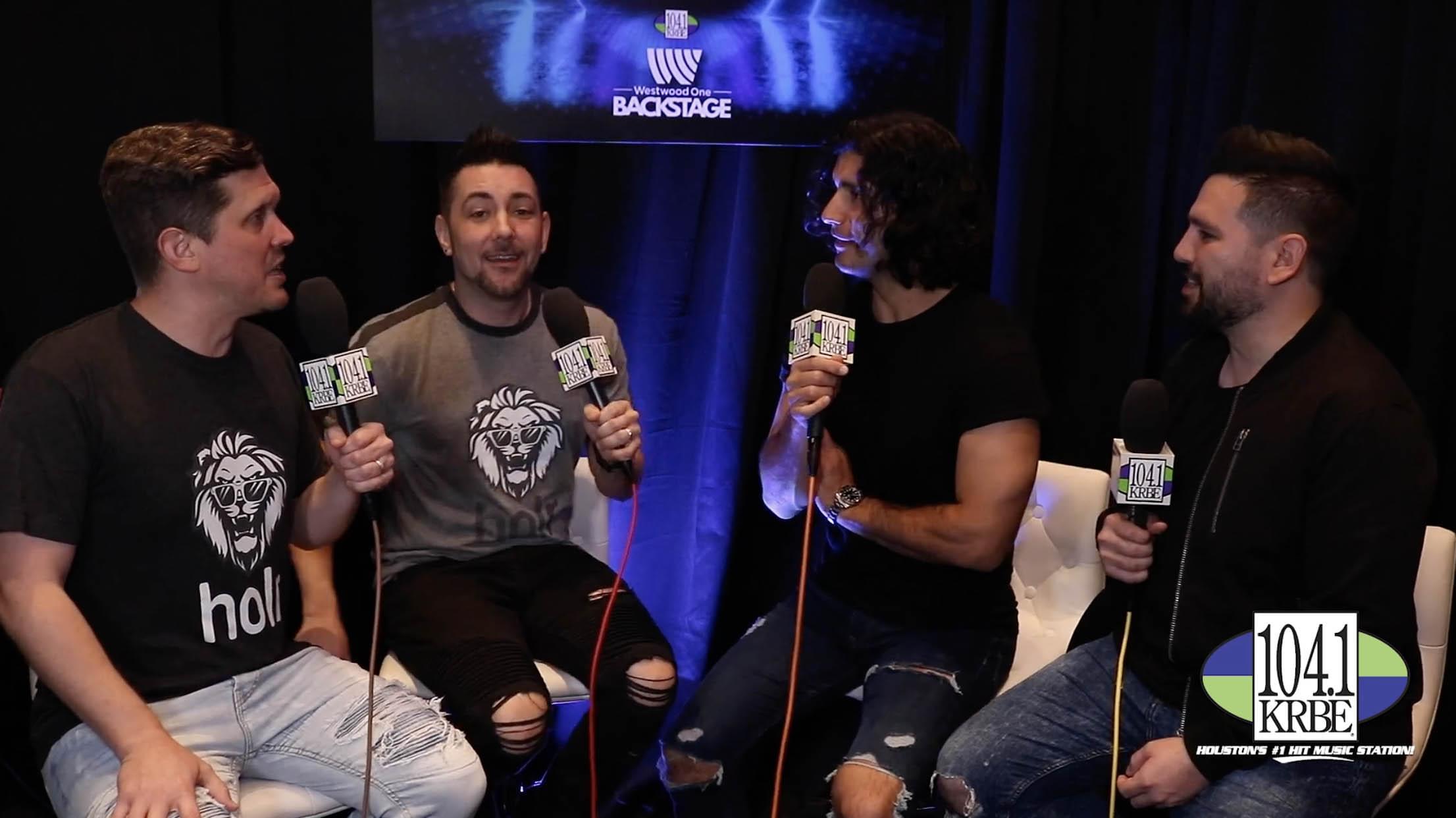 Special K & Kevin Quinn interview Dan & Shay at the 2019 BBMAs