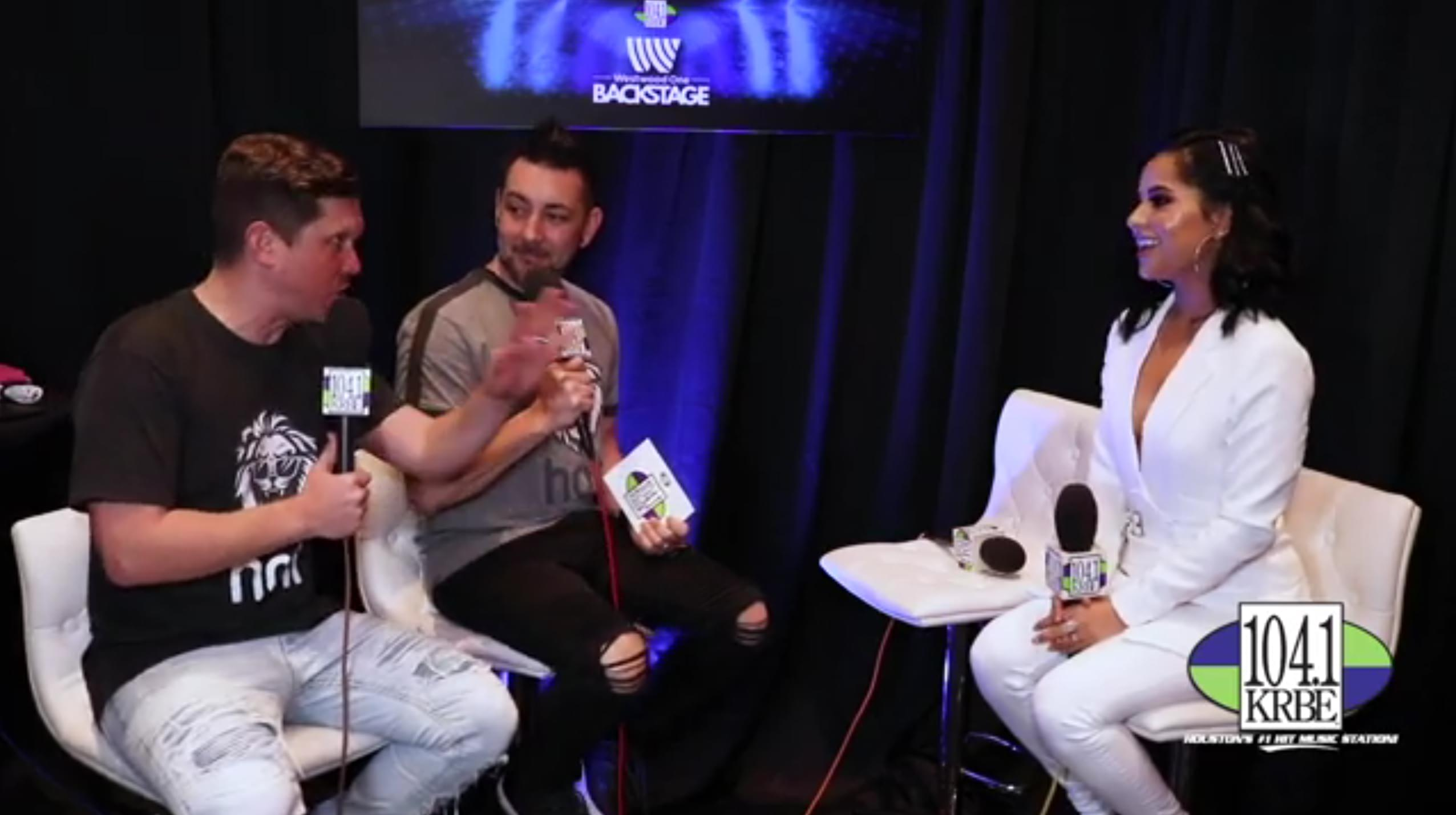 Special K & Kevin Quinn interview Becky G at the 2019 BBMAs