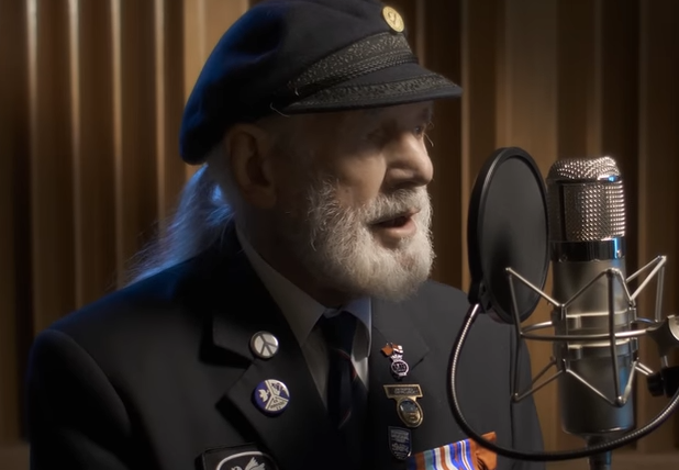 WATCH: 90-year-old D-Day veteran's song tops Ed Sheeran on charts