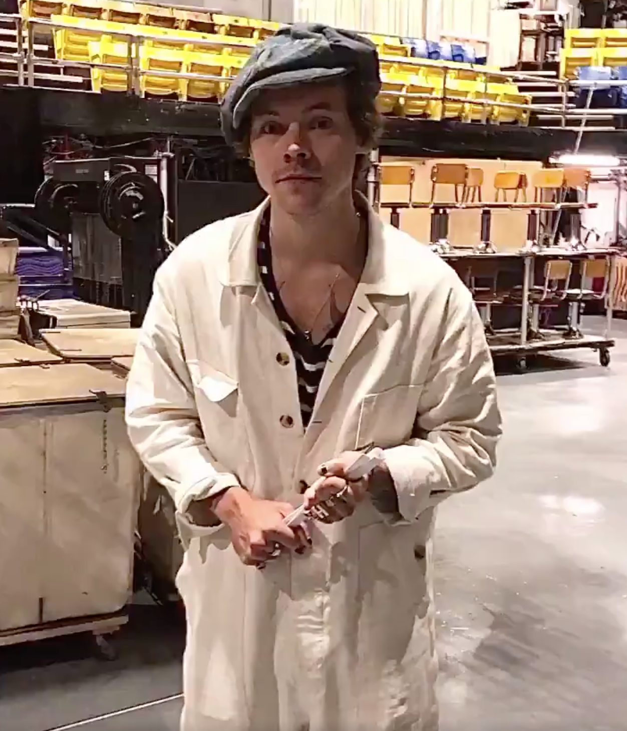 WATCH: Harry Styles is Not About Social Media