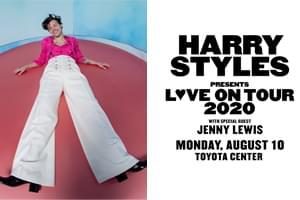 Aug 10: Harry Styles