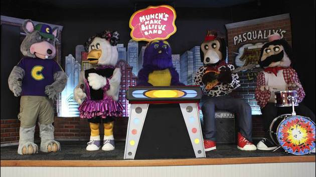 Animatronic Band Ousted By Chuck E. Cheese