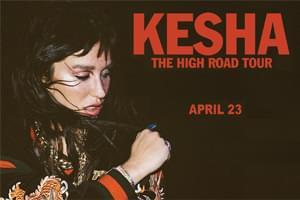 April 23: Kesha