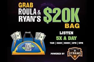 Grab Roula & Ryan's $20K Bag
