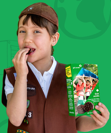 Girl Scout Cookies now available online!