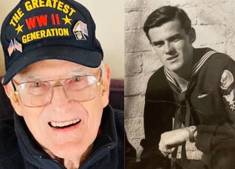 95-year old WWII veteran beats coronavirus