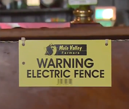 UK pub owner installs electric fence around bar to encourage social distancing