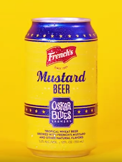 In honor of National Mustard Day, French's Mustard Beer