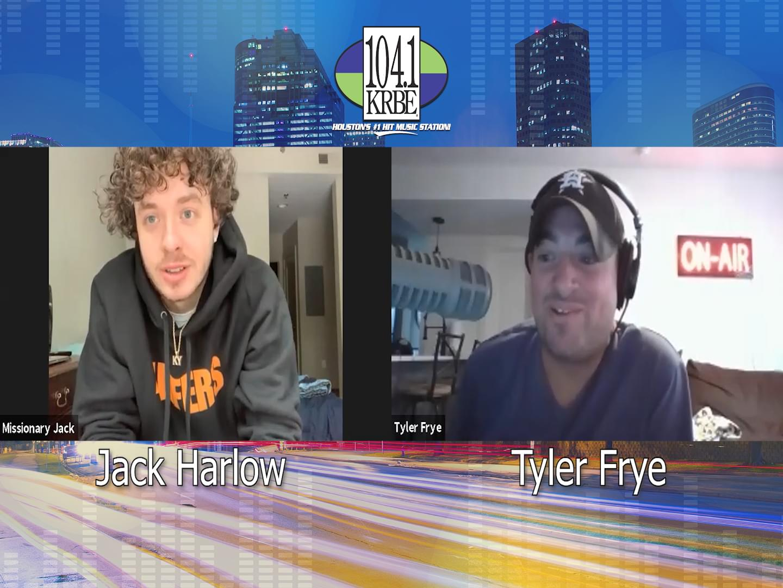 Tyler Frye interviews Jack Harlow