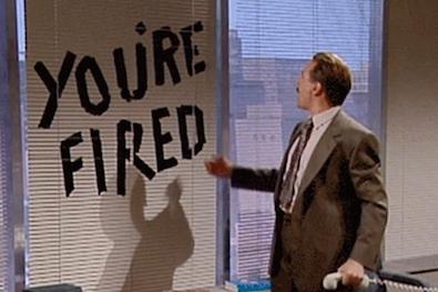 Signs a boss should fire an employee