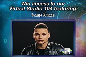 KRBE's Virtual Studio 104: Kane Brown