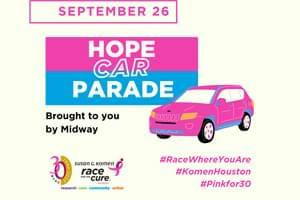 #RACEWHEREYOUARE With Komen Houston