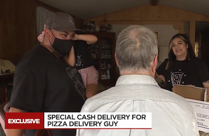 Tik Tok users raise $12,000 for 89-year old pizza delivery driver