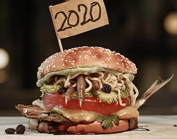 If 2020 were a burger