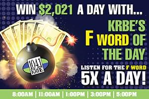 KRBE's F Word of The Day