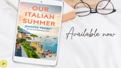 Best-selling author Jennifer Probst sends you to Italy with her latest novel