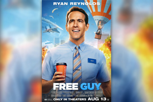 """Win A Pair Of Passes To See """"Free Guy"""""""