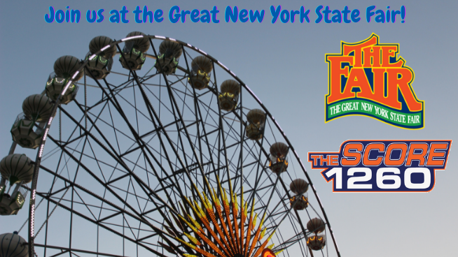 Join The Score 1260 at The Great New York State Fair