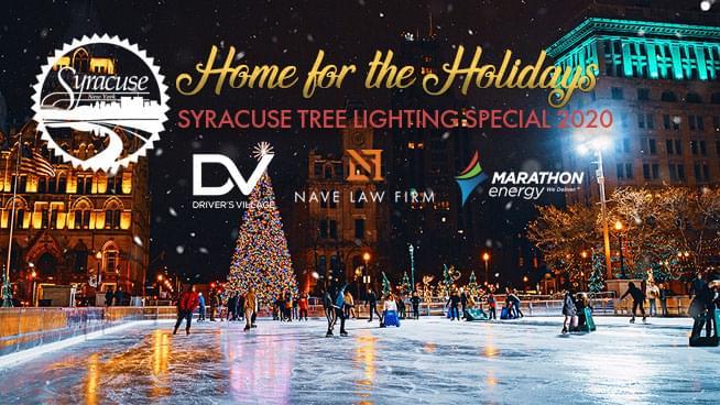 Syracuse Virtual Tree Lighting Special 2020 | WATCH NOW