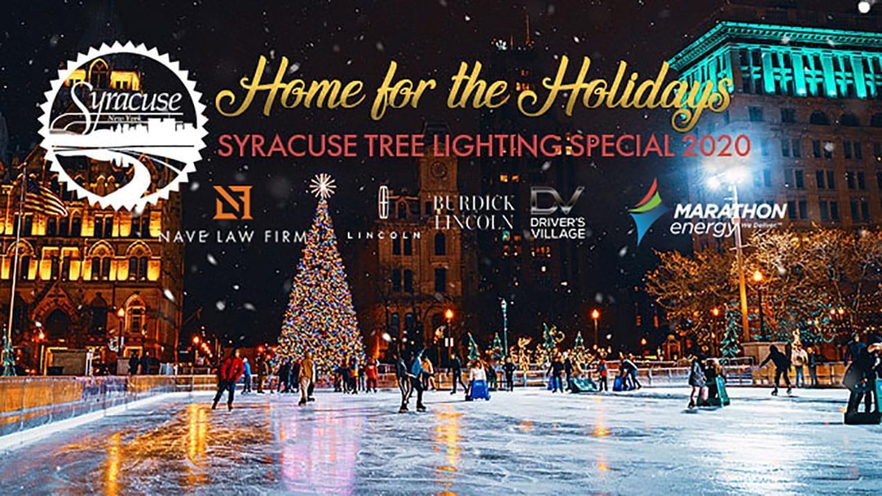 Syracuse Virtual Tree Lighting Special 2020   WATCH NOW