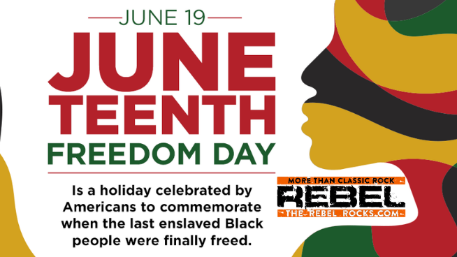 The Rebel Rocks Celebrates Juneteenth