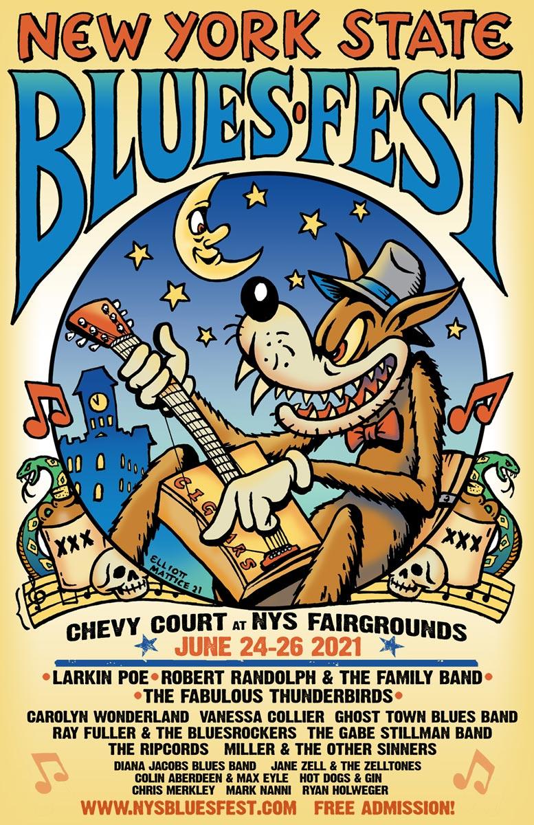NYS Blues Festival | June 24-26th